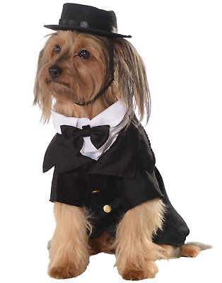 Hund Haustier Smoking Dapper Haustier Bekleidung Hochzeit Bräutigam (Hunde Bräutigam Kostüm)