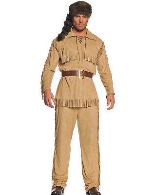 Frontier Man Erwachsene Indianer Herren Halloween Party Kostüm