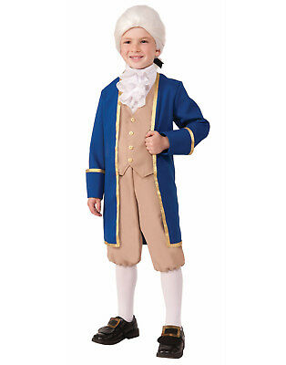 Boy George Halloween Kostüme (George Washington Boys Child Colonial Presidential Halloween Costume)