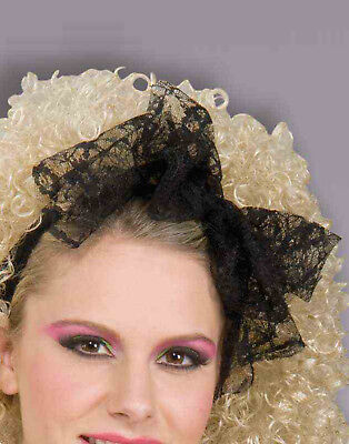 80'S Lace Adult Hair Madonna Bow Scarf Accessory (80s Accessories)