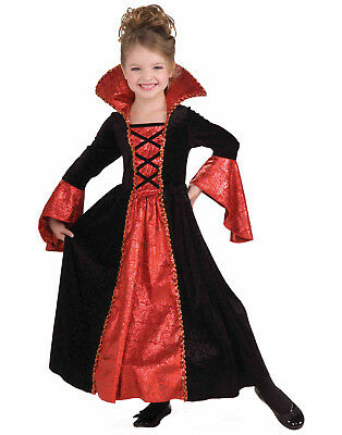 Vampire Princess Girls Child Witch Halloween Costume Dress - Vampire Princess Costume Halloween