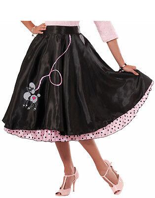 50er Jahre Damen Erwachsene Tänzer Halloween Kostüm Pudel Skirt-Std