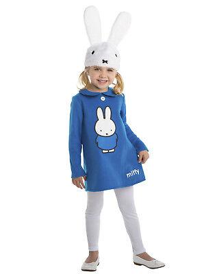 Miffy Blue Dress Girls Toddler Story Book Rabbit Halloween Costume