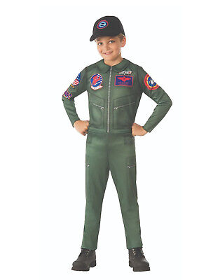 Top Gun Boys Child Navy Fighter Jet Pilot Halloween - Jet Fighter Halloween Costume