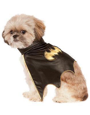 Dog Superhero Costume (Dc Comics Batgirl Pet Dog Superhero Halloween Costume)