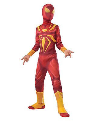 Comic Book Costumes (Marvel Civil War Iron Spiderman Comic Book Kids Boys Halloween Costume)