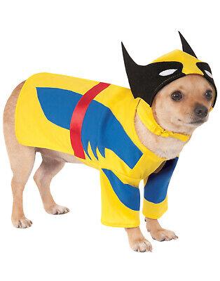 Marvel Wolverine Haustier Hund X-Men Superheld Halloween COSTUME-M