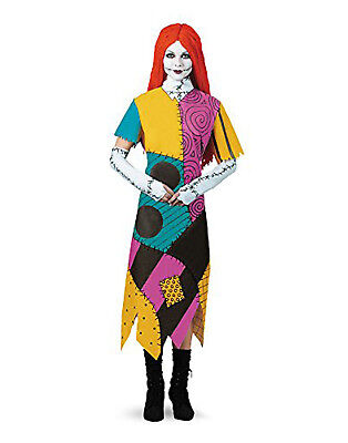 Nightmare Before Christmas Sally Halloween Kostüme (Disney The Nightmare Before Christmas Sally Teen Girl Halloween Costume-Jr)
