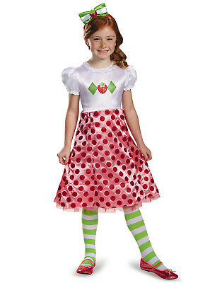 Strawberry Shortcake Klassisch Kinder Halloween Mädchen - Strawberry Shortcake Kostüm Kinder