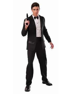 Spion Herren Erwachsene Geheimagent Halloween Herr Smith Kostüm Smoking