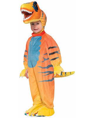 Rascally Raubvogel Velociraptor T-Rex Dinosaurier Overall Kleinkind Kostüm ()