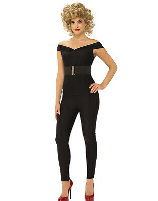Grease Womens Bad Cool Sandy 1950'S Adult Halloween Costume
