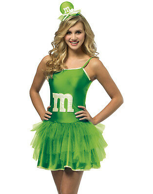 M&M Sassy Green Mini Tutu Teen Dress Up Girls Costume Teen - M&m Dress Up