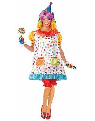 Geburtstag Zirkus Clown Wiggles Lustig Klassisch Erwachsene Damen Kostüm Std
