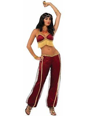 Rubin Tänzer Damen Erwachsene Zigeuner Bauchtänzerin Halloween Costume-Std ()