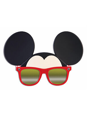 Mikey Mouse Boys Character Red Sunglasses Sunstaches Black Ears - Mikey Mouse Costume