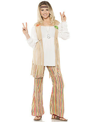 Hippie Blume Kinder Damen 18.3mS 600mS Woodstock Halloween Kostüm