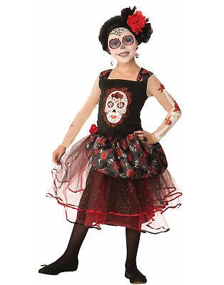 Day Of The Dead Rosa Senorita Sugar Skull Goth Princess