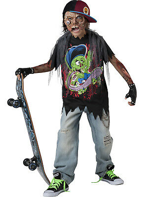 Zombie Monster Dead Skater Skateboard Boys Walking Dead Halloween - Skateboard Halloween Costumes