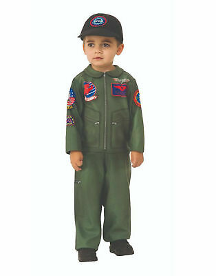 2 Year Old Halloween Costumes (Top Gun Infant Toddler Jet Pilot Halloween Costume 2-4 for 1-2 Year)