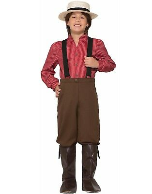 Pioneer Boy Child Settler Colonist Explorer Halloween Costume - Boys Explorer Costume