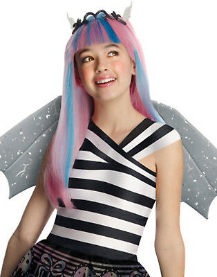Monster High Rochelle Goyle City Of Frights Girl Halloween Costume Wig