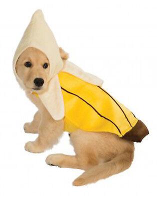 Haustier Nahrung Kostüm Gelb Geschält Banane Hund / Katzenkostüm Früchte - Geschälte Banane Kostüm