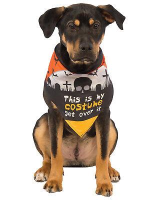 This Is My Costume Pet Dog Cat Halloween Bandana Collar-S-M