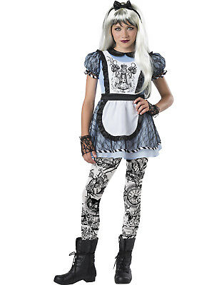 Malice In Wonderland Girls Child Wicked Alice Halloween Costume - Alice In Wonderland Child Halloween Costumes