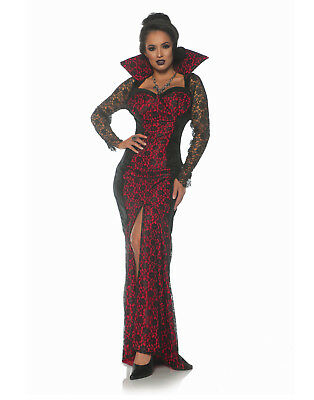 Mistress Of The Night Womens Adult Gothic Witch Vampire Costume