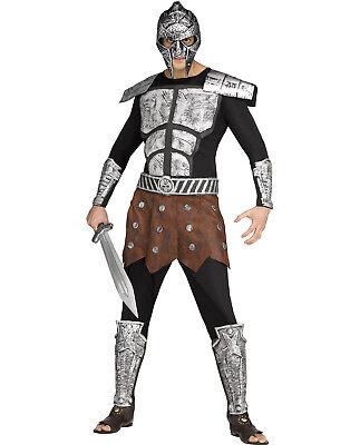 Erwachsene Spartaner Griechisch Römisch Gladiator Krieger Halloween Kostüm Satz
