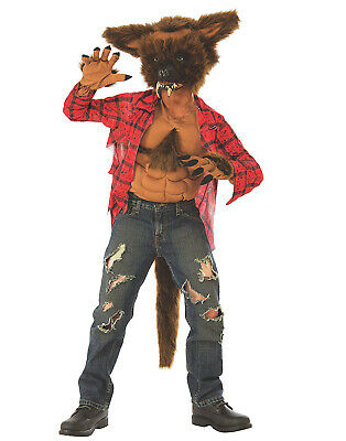 Werewolf Boys Child Mythical Creature Hairy Monster Halloween Costume (Werewolf Kid Costumes)