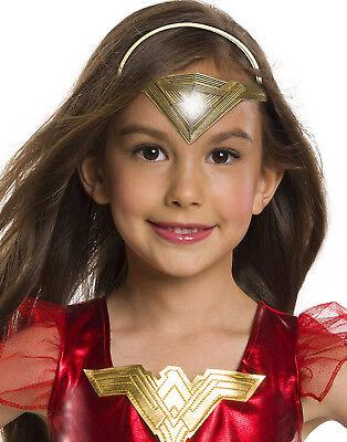 Justice League Wonder Woman Kinder Mädchen Leuchtend Tiara Krone ()