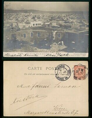 Mayfairstamps Tunisia 1900s General View of Casbah Used Real Photo Postcard wwo8