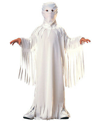 Kids White Sheet Classic Ghost Halloween Costume L