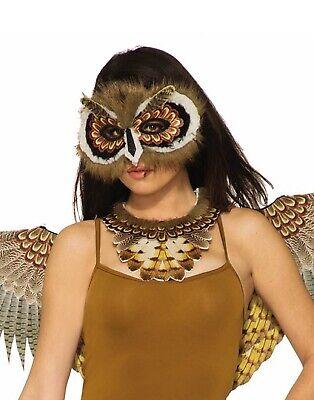 Animal Masks (Womens Adult Bird Animal Costume Accessory Owl)