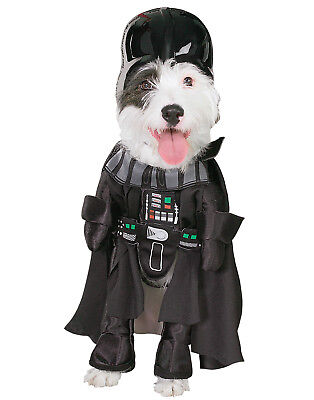 Dog Star Wars Darth Vader Pet Dress Up Halloween Costume Suit](Dog Darth Vader Costume)