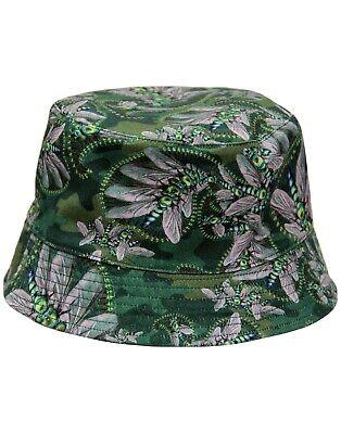 TORIA PRETTY GREEN X KATIE EARY RETRO BUCKET HAT Reversible