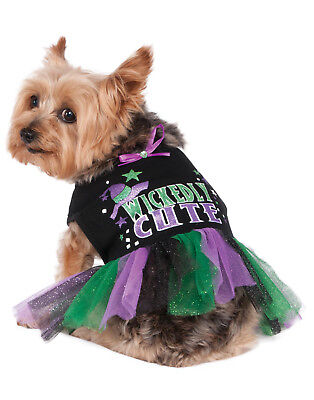 Wickedly Cute Pet Dog Cat Witch Halloween Costume - Cute Pet Kostüme Halloween