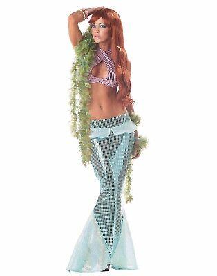 Halloween Costumes - Women's MermaidANDSerpentine (Auburn) Wig](Halloween Mermaid Costumes)