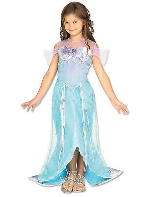 Mermaid Halloween Costumes For Girls (Girls Deluxe Mermaid Princess Halloween)