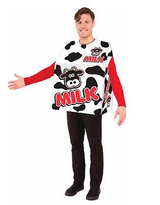 Milchpackung Erwachsener Lustig Einteiler Molkerei Halloween Costume-Std