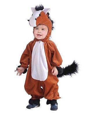 Maskottchen Plüsch Pferd Unisex Kinder Nutztier Halloween Kostüm ()