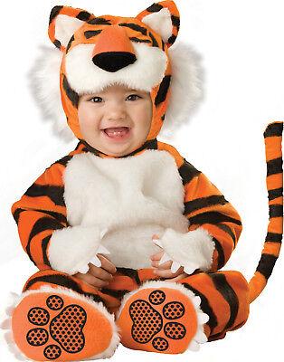 Winzig Tiger Gestreift Kätzchen Katze Kleinkinder Baby Tier Halloween Kostüm (Orange Katze Kostüm Kind)