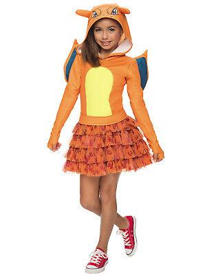 �dchen Kapuzenpullover Kostüm (Pokemon Kostüm Mädchen)