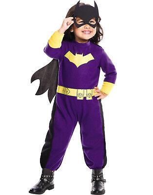 Dc Comics Batgirl Kleinkind Mädchen Superheld Kostüm - Kleinkind Mädchen Batgirl Kostüm