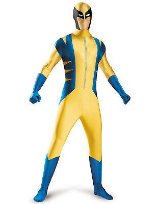 Marvel Wolverine Boys Superhero Bodysuit Halloween Party Costume Teen - Wolverine Halloween Costumes