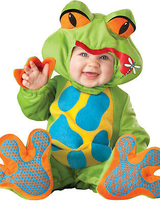 Lil' Tree Frog Baby Toddler Infant Froggy Jumpsuit Costume (Frog Costume Baby)