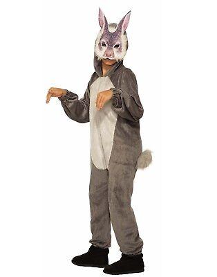 Bunny Jumpsuit And Mask Unisex Child Animal Halloween Costume