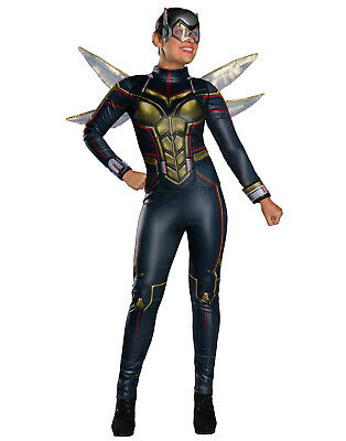 Antman And The Wasp Adult Womens Wasp Superhero Halloween Costume](The Wasp Halloween Costume)